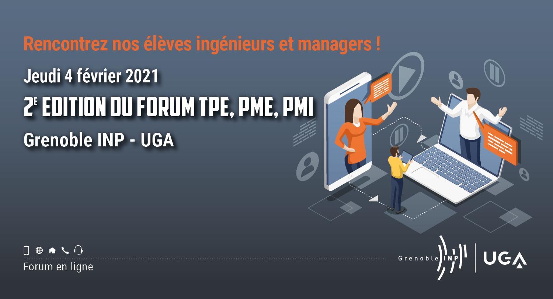 2ème édition forum TPE PME PMI Grenoble INP - UGA