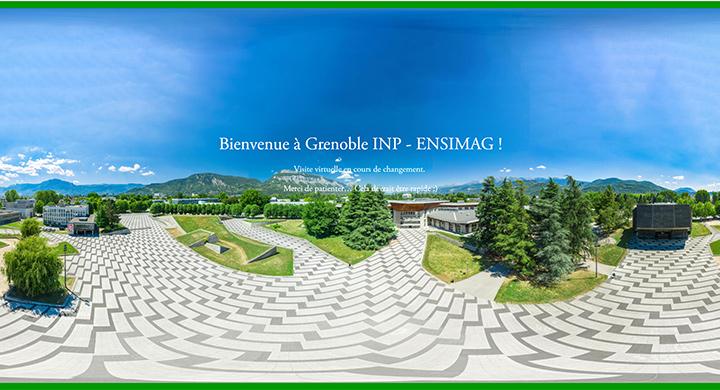 Visite virtuelle Ensimag